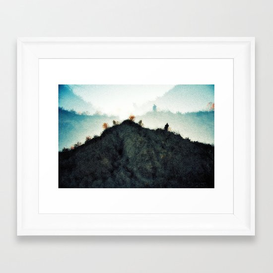 1[m]m0rt4l [ex. c] Framed Art Print