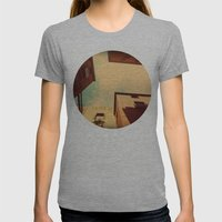 Spain Womens Fitted Tee Athletic Grey SMALL