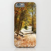 iPhone & iPod Case featuring The First Snow by Captive Images Photography