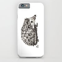 iPhone & iPod Case featuring Woodland Creatures: Hedgehog by Ursula Rodgers
