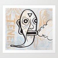 Tener Art Print