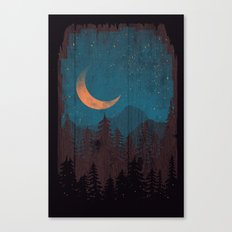 Those Summer Nights... Canvas Print