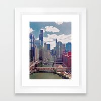 Chicago River View III Framed Art Print