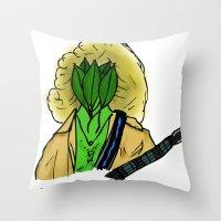 Peter Rampton Throw Pillow