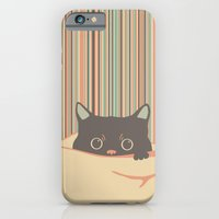 Kitty In The Blanket iPhone 6 Slim Case