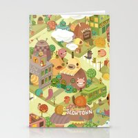 Slowtown Stationery Cards