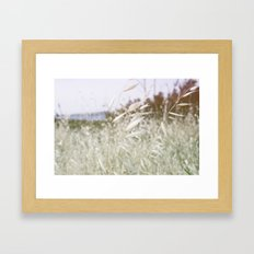 In The Hills Framed Art Print