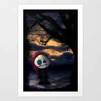 Sadness Self Art Print