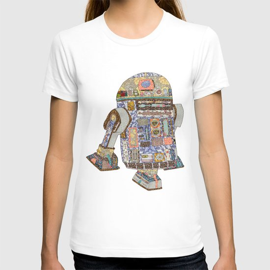 R2D2 crashed into a flower shop T-shirt