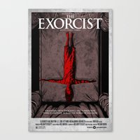 The Exorcist Canvas Print