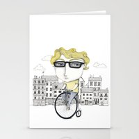 Biking Stationery Cards