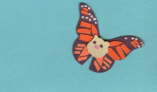 Mr. Cotton is a Butterfly Now? Art Print