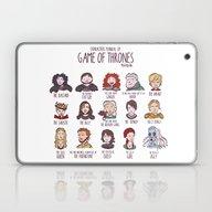 GAME OF THRONES CHARACTH… Laptop & iPad Skin