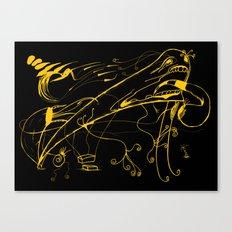 Grito Canvas Print