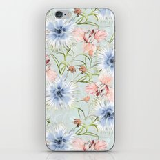 Pastel Spring Flowers iPhone & iPod Skin