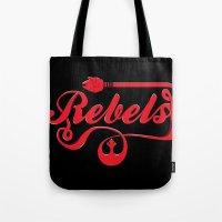 Rebels (red) Tote Bag