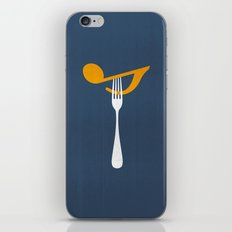 Hungry For Music iPhone & iPod Skin