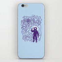 I Come In Peace iPhone & iPod Skin