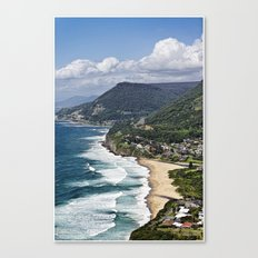 the great aussie south coast  Canvas Print