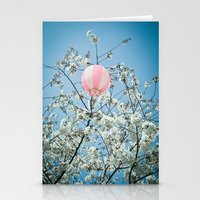 Cherry Bloosom Time Stationery Cards