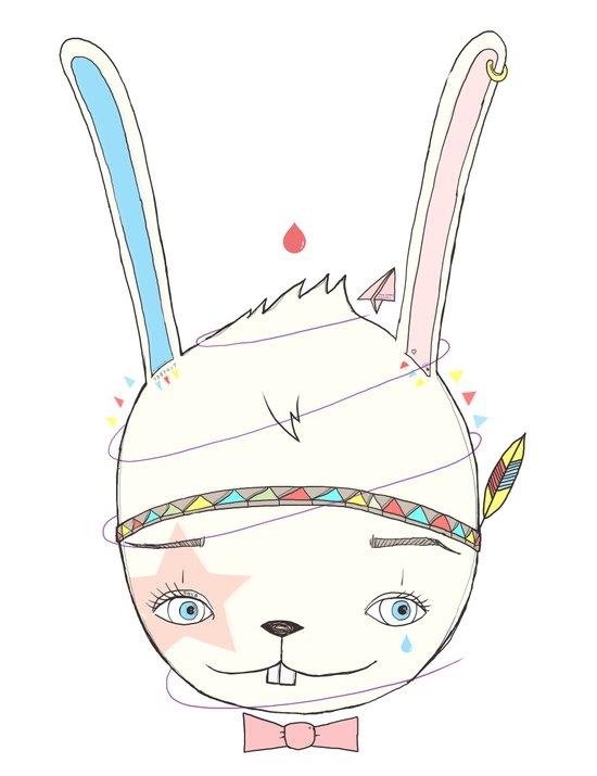 うさぎドロップ [Usagi doroppu] 토끼드롭 Art Print