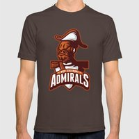 Mon Calamari Admirals On… Mens Fitted Tee Brown SMALL