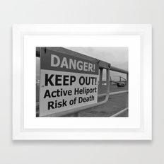 Heliport Framed Art Print