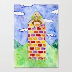 Humpty Dumpty - Before The Fall Canvas Print