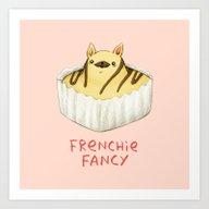 Frenchie Fancy Art Print