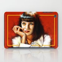 Mia Thurman iPad Case