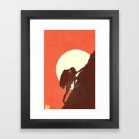 Appalachian Completion  Framed Art Print