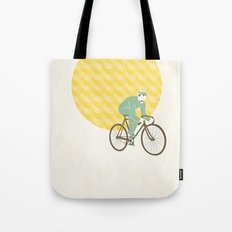 Stache with Sunrise Tote Bag