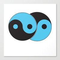 Reflections of Yin and Yang Canvas Print