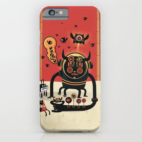 Insect catcher iPhone & iPod Case
