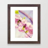 PINK FLOWER - FIORI ROSA Framed Art Print