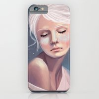 Her Cheeks Glowed with the Constellations of Lovers iPhone 6 Slim Case