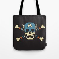 Captain 'Jolly' Rogers  Tote Bag