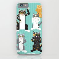iPhone & iPod Case featuring Cats I have known by Joe Pugilist Design