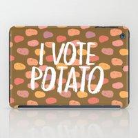 I Vote Potato iPad Case