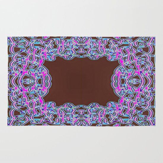 In The Pink Colorfoil Bandanna Area & Throw Rug