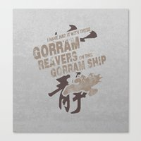Firefly and Serenity: Gorram It! Canvas Print