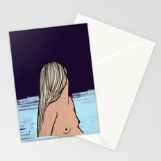 IN THE MIDDLE OF THE SEA Stationery Cards