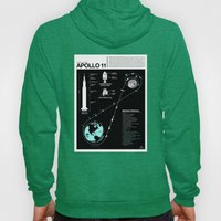 Apollo 11 Mission Diagram Hoody