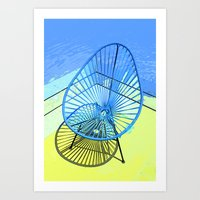 Chair & Chair Alike. Art Print
