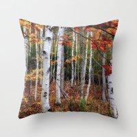 Acadia Fall Color Throw Pillow