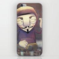 anonymous iPhone & iPod Skin