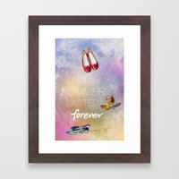 If Only Summer Lasted Fo… Framed Art Print