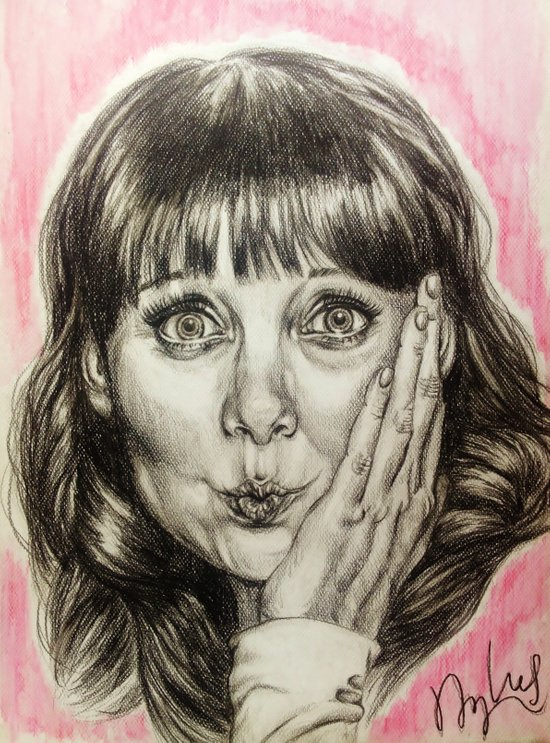 Asha Cuthbert    By Davy Wong Art Print
