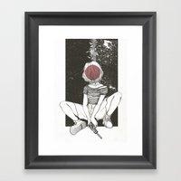 Kill Girl Framed Art Print