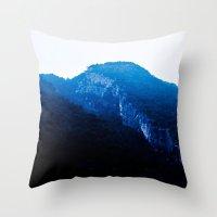 C Hills III Throw Pillow